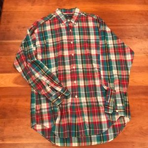 Men's Ralph Lauren Plaid Shirt